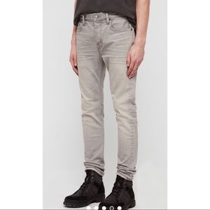 All Saints Cigarette skinny Grey Jeans - Size 30